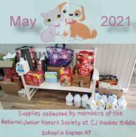 NJHS CJ Hooker School Donation May 2021